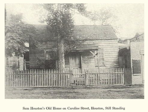 Sam Houston's Home - 1907