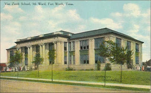 Va Zandt School - 5th Ward - 1908