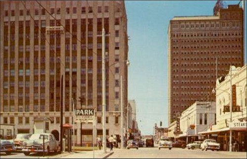Downtown - 1950's