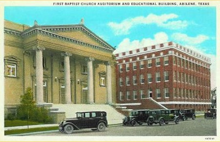 First Baptist Church - 1920's