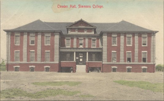 Simmons College - Cowden Hall - 1911