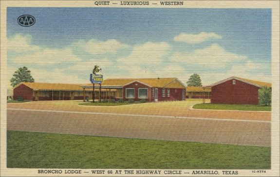Broncho Lodge - 1940's