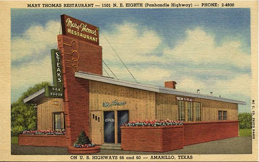 Mary Thomas Restaurant - 1940's