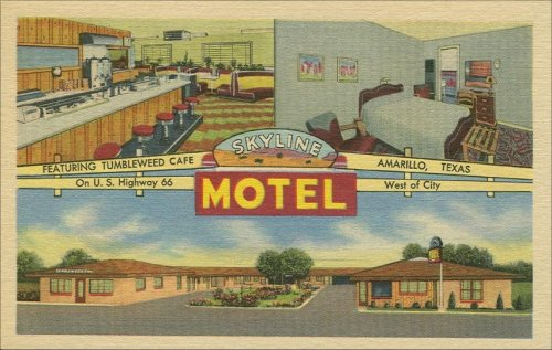 Skyline Motel & Tumbleweed Cafe - 1940's