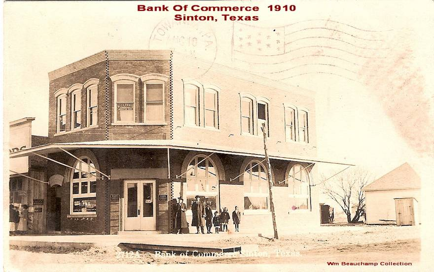 Bank Of Commerce - 1910