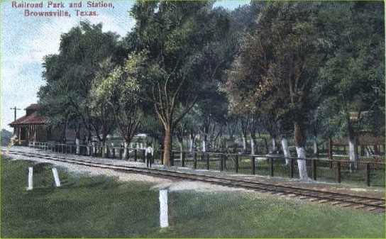 Railroad Park & Station - 1908