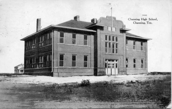 Channing Texas school from 1907-1931