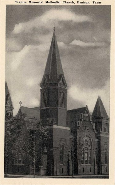 Waples Memorial Methodist Church - 1941