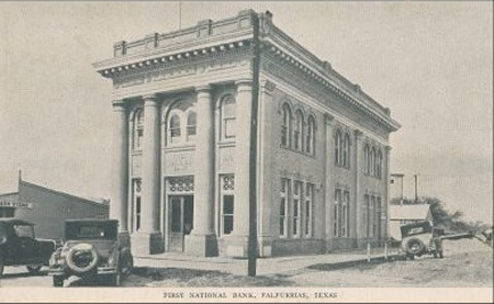 First National Bank - 1920's