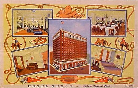 Hotel Texas - Multiview - 1930's