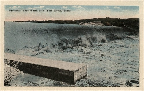 Lake Worth Dam - 1917