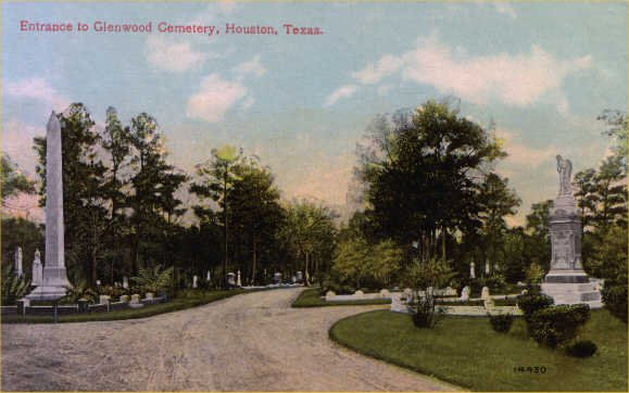Glenwood Cemetery Entrance - 1910