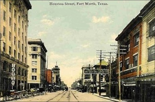 Houston Street - Ca 1900