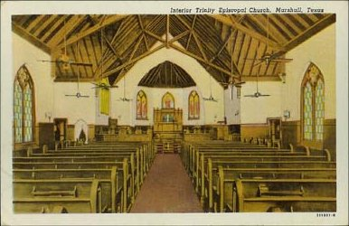 Trinity Episcopalian Church Interior