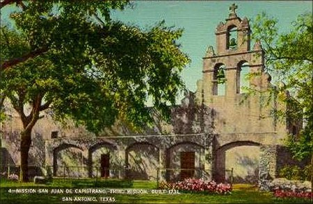 Mission San Juan DeCapestran - Built 1731