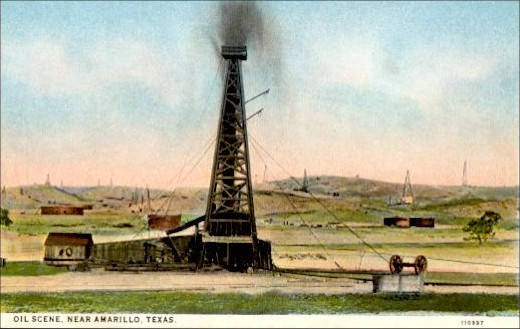 Oil Well - It's a Gusher!