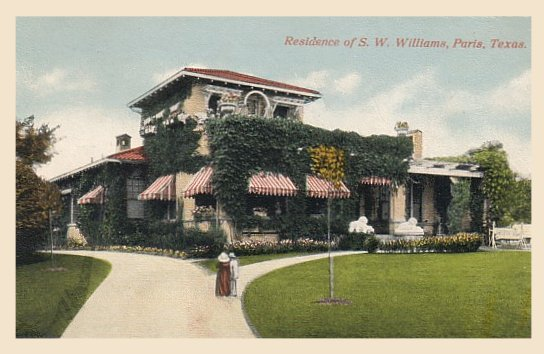 Williams, S W Home - 1914