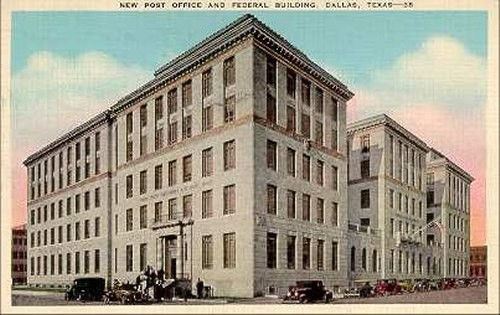 Post Office & Federal Building - Ca 1930's