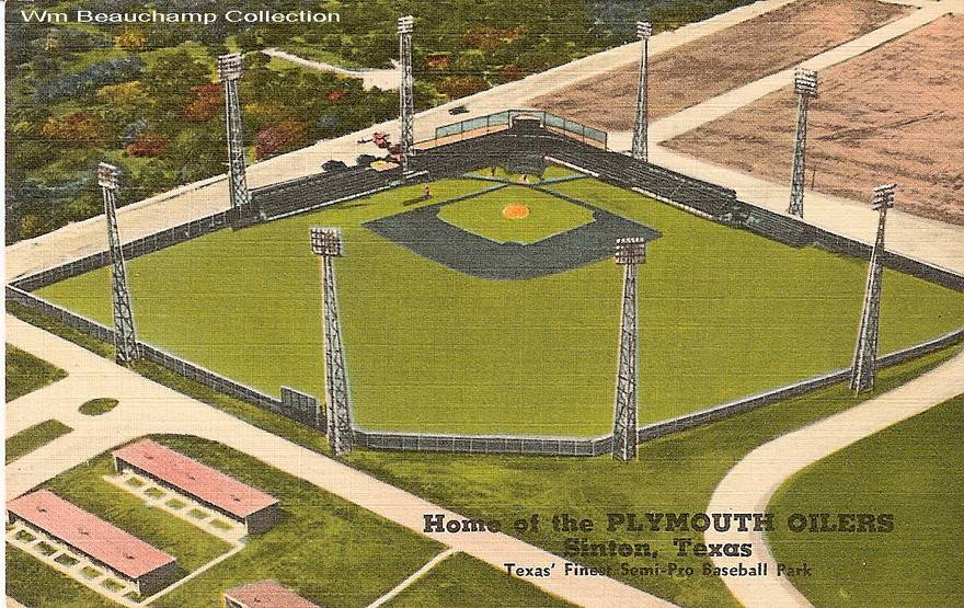 Home of the Plymouth Oilers - Texas' Finest Semi-Pro Baseball Park