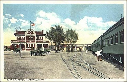 T & P Railroad Depot - 1915