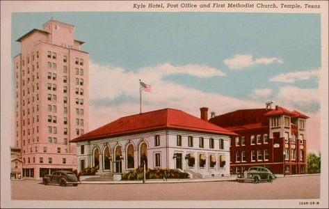 Kyle Hotel & Post Office - 1940's