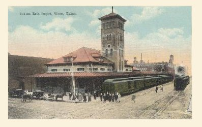 Cotton Belt Depot - Ca 1910