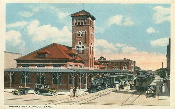 Railroad Depot - 1920's