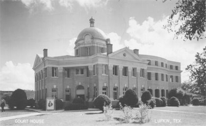 Angelina County Courthouse 1944