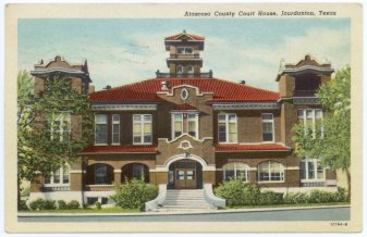 Atascosa County Courthouse 1912