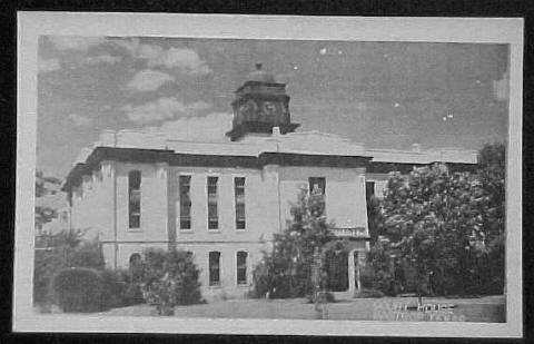 Bastrop County Courthouse 1935