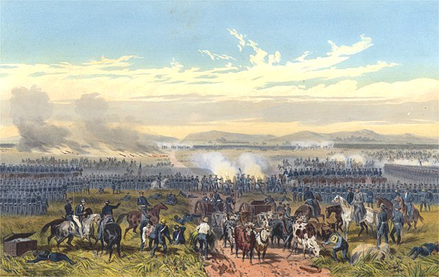 Battle of Palo Alto Mexican American War