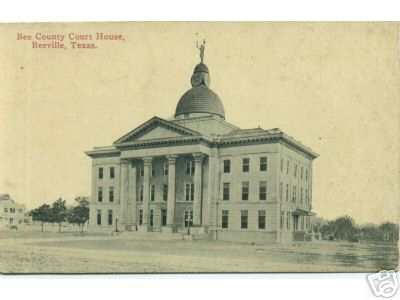 Bee County Courthouse 1913