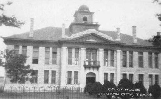Blanco County Courthouse 1916