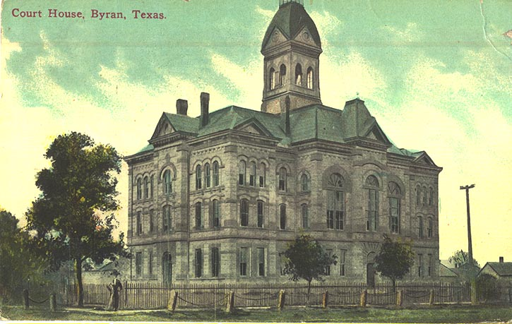 Brazos County Courthouse 1915
