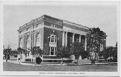 Brooks County Courthouse ca. 1920