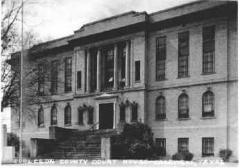 Burleson County Courthouse 1927
