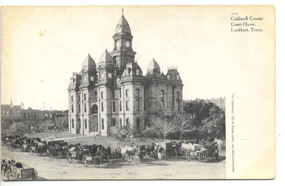 Caldwell County Courthouse ca.1905