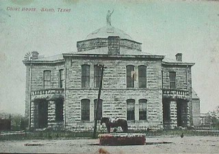 Callahan County Courthouse ca.1900