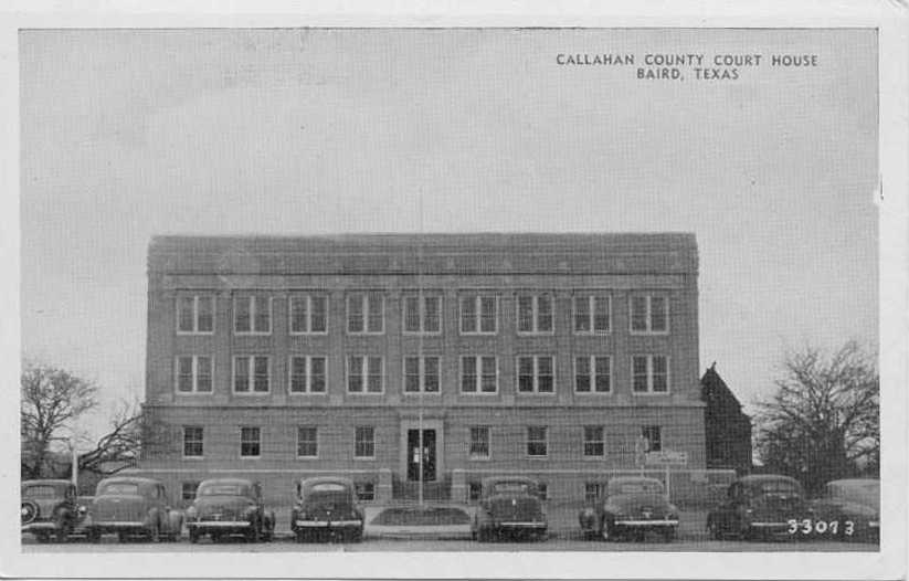 Callahan County Courthouse 1942