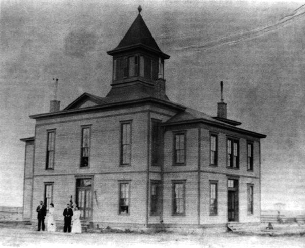 Carson County Courthouse 1888