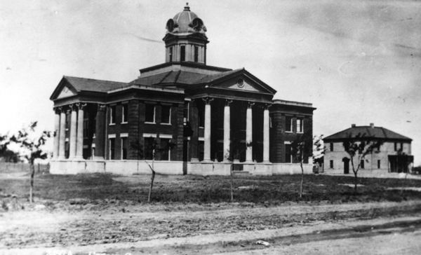 Carson County Courthouse 1909