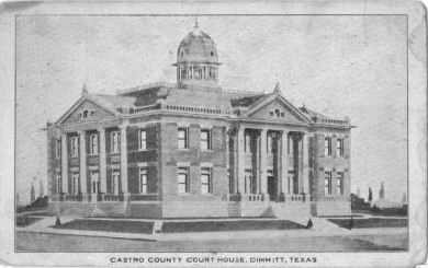 Castro County Courthouse ca.1910
