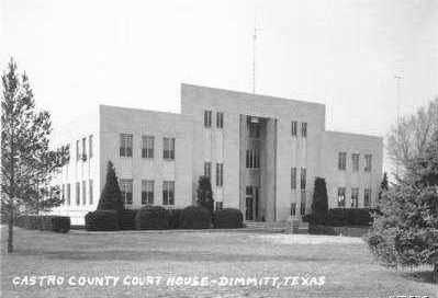 Castro County Courthouse 1940