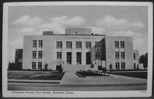 Chambers County Courthouse ca.1940