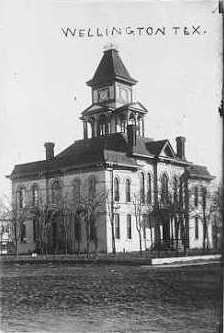 Collingsworth County Courthouse ca.1900
