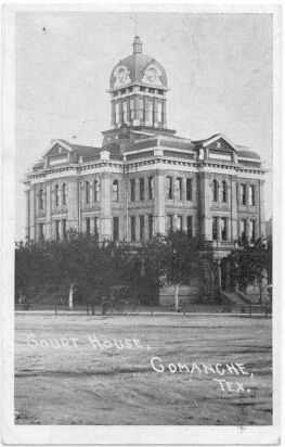 Comanche County Courthouse 1923