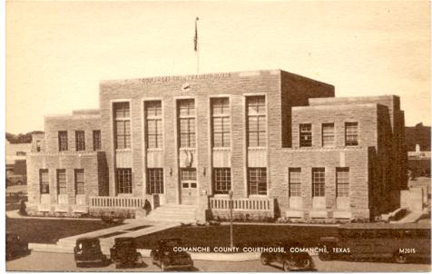 Comanche County Courthouse ca 1940