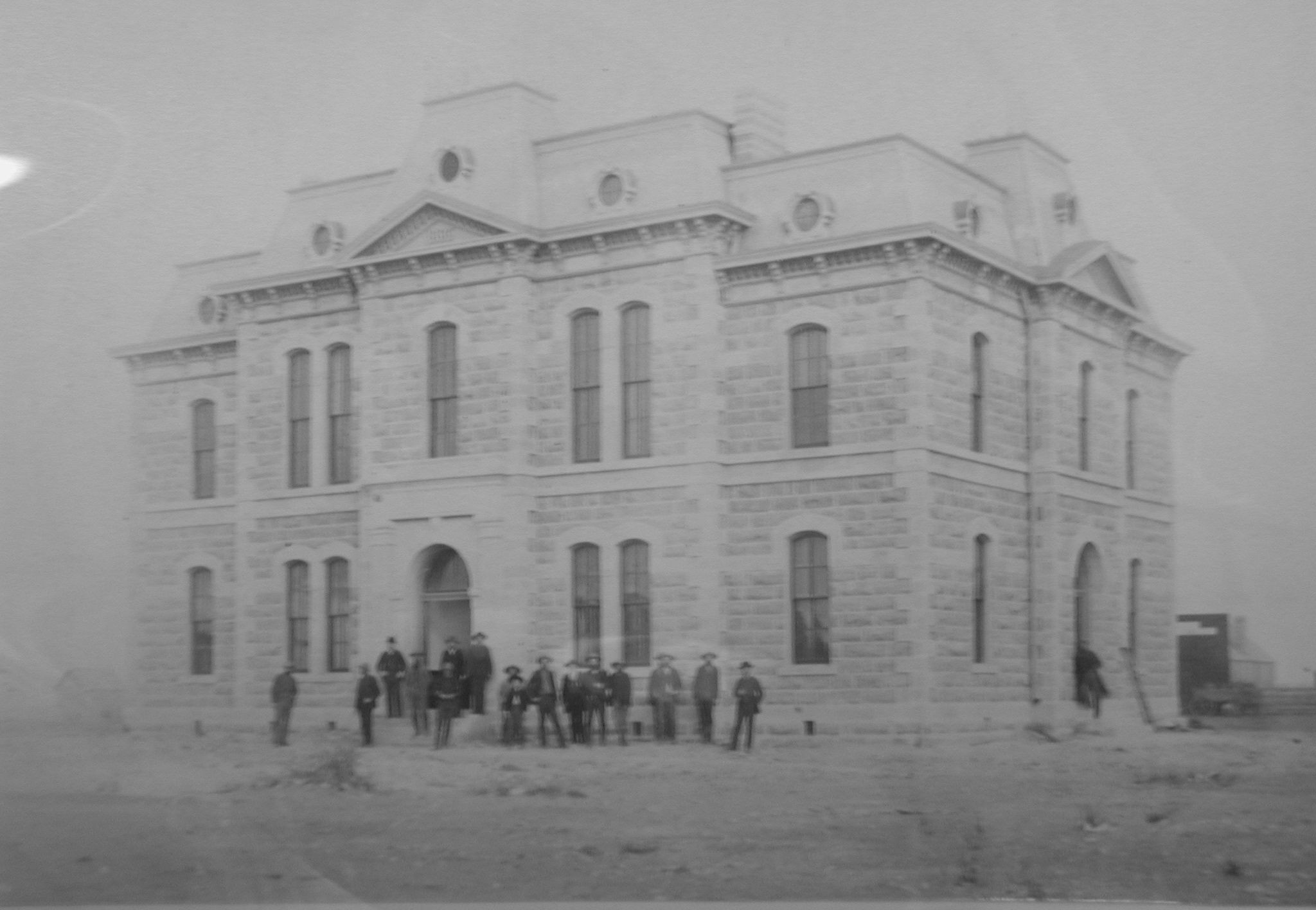 Concho County Courthouse ca 1886