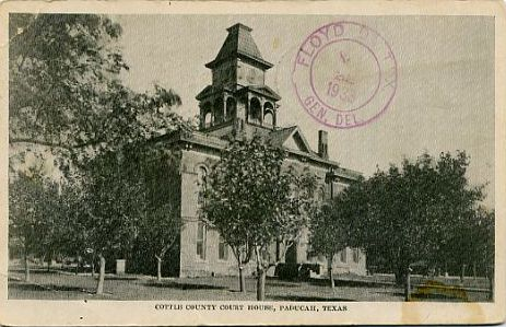 Cottle County Courthouse 1933
