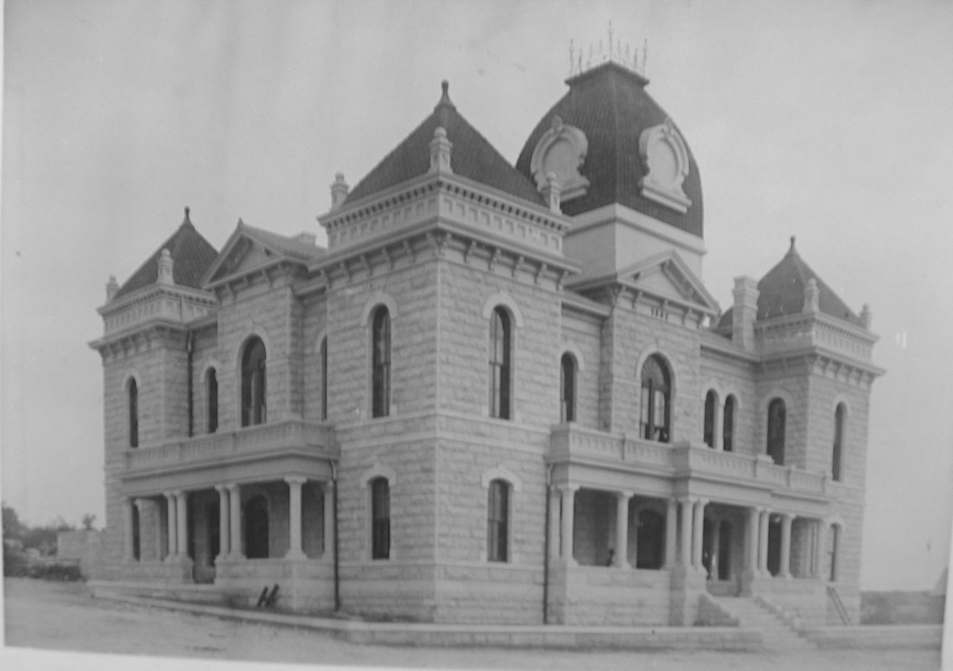 Crockett County Courthouse 1891
